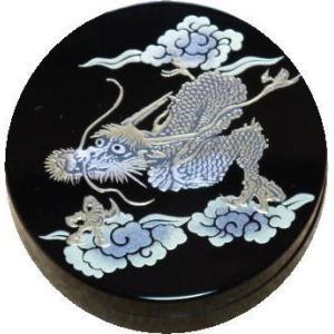 香合 切立 香道具 お香 焼香 日本製 仏具 昇龍2.6寸|kumano-butu