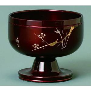 りん おりん 彫入 高台リン 遊亀 袱紗 撥付 ワインレッド 2.3寸|kumano-butu