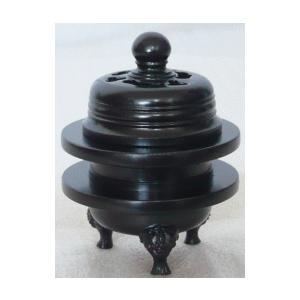 火舎香炉 黒光色 1.6寸|kumano-butu