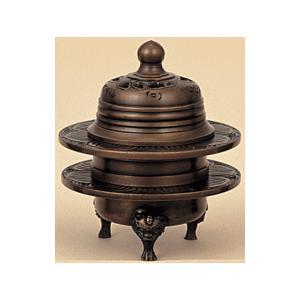 火舎香炉 彫入 色付 1.8寸|kumano-butu
