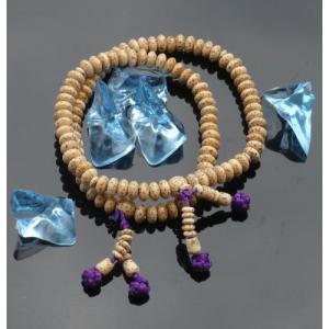 数珠 念珠 ブレスレット 宗派対応 二輪ブレス 星月菩提樹 真言宗|kumano-butu