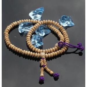数珠 念珠 ブレスレット 宗派対応 二輪ブレス 星月菩提樹 浄土真宗|kumano-butu