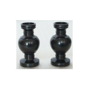 華鋲 黒光色 1対 2.5寸|kumano-butu