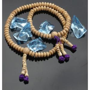 数珠 念珠 ブレスレット 宗派対応 二輪ブレス 星月菩提樹 日蓮宗|kumano-butu