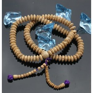 数珠 念珠 ブレスレット 宗派対応 二輪ブレス 星月菩提樹 天台宗|kumano-butu