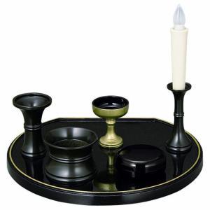 厨子型仏壇小用 仏具セット|kumano-butu