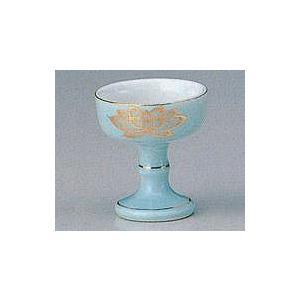仏器 陶器 青磁上金蓮 小|kumano-butu