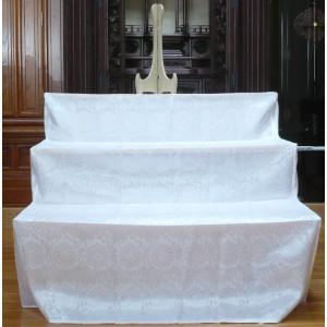 祭壇 後飾り お盆飾棚 木製 白布付 ご先祖様3尺|kumano-butu