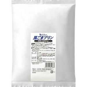 【終売品】ハウス 黒ごまプリンの素 業務用 800g プリン約90個分【賞味期限2020.6.26】|kumano-nakatani