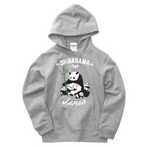 ファミリーパンダ プルオーバーパーカー|kumano-t