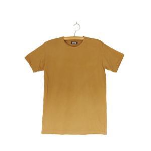 番茶染め【半袖】Tシャツ(無地/銅媒染)|kumano-t