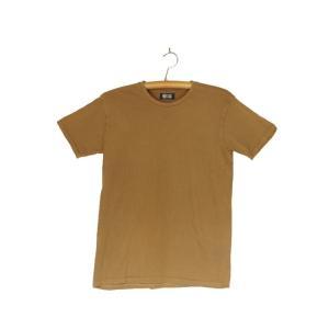 番茶染め【半袖】Tシャツ(無地/銅×鉄媒染)|kumano-t