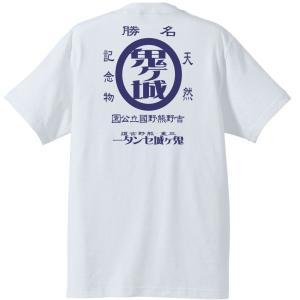 鬼ヶ城レトロTシャツ,半袖,和柄,三重,世界遺産熊野古道|kumano-t