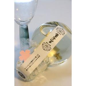 日本酒 フルーティー 冷酒 平瀬 純米吟醸 桜の花形 金箔入 キュート180ml アベリア|kumanonamida|03