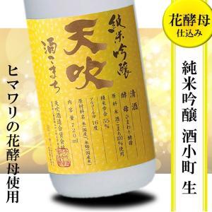 日本酒 フルーティー 辛口 冷酒 天吹 生酒 純米吟醸 ひまわり酵母 720ml|kumanonamida