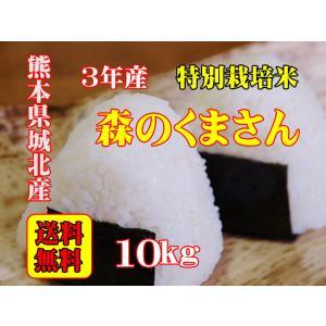 令和元年産 熊本県城北産 特別栽培米 森のくまさん 10kg 玄米 精米