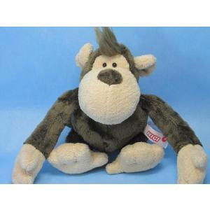 ぬいぐるみ サル さる 猿 ニキ NICI 23400 WF モンキークラシック25cm ワイルドフレンズ|kumashop90