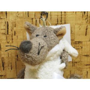 ぬいぐるみ オオカミ  NICI ニキ BBジョリーウルフ10cm|kumashop90