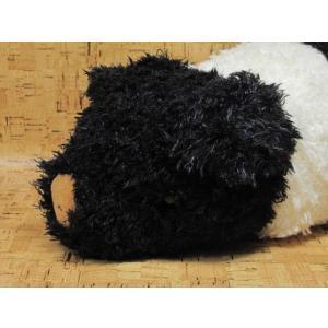 ぬいぐるみ ブタ 豚 ぶた シナダ ベイビーブーM ハンプシャー(白黒)|kumashop90
