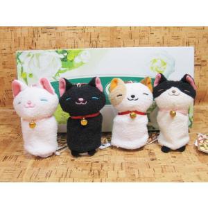 ぬいぐるみ ねこ ネコ 猫 シナダ なごみねこ 指人形|kumashop90
