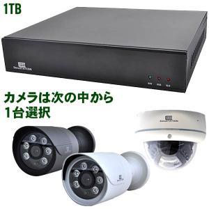 PoE録画装置(4ch) PoE 511万画素カメラ1台セット HDD 1TB kumazou2