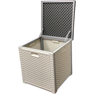 アルミス 樹脂製スツールストッカーボックス 472×472×519mm APC-100