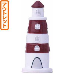 ((アウトレット))ドウシシャ 灯台ソーラーライト レッド JYSS18-09|kumazou2