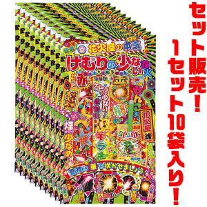 若松屋 花火屋の本気 けむりの少ない花火 10個セット kumazou2
