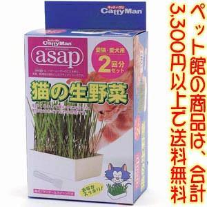 ((ペット館))ドギーマンハヤシ(株) HYASAP猫の生野菜2P|kumazou2