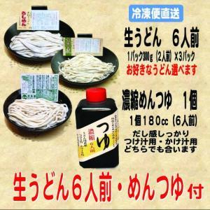 生うどん6人前・めんつゆ付|kumezo-udon