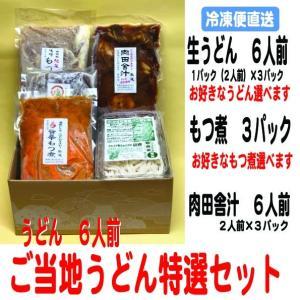 ご当地うどん特選セット(6人前)|kumezo-udon