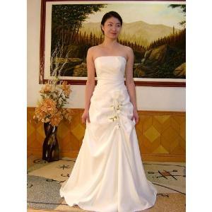 a6c985424463f wdk091B 人気のウェディングドレスを無料サイズオーダー! ビスチェタイプ