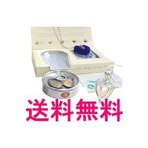 ラッピング対応 缶パールネックレス - 定形外送料無料 -|kumokumo-square