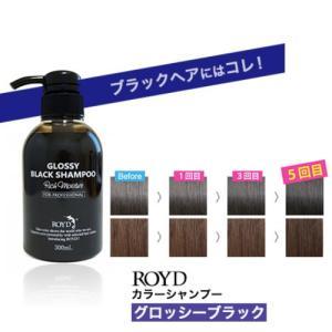 ロイド カラーシャンプー グロッシーブラック 300ml  メーカー公認正規品( 黒 / シャンプー...