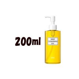 DHC 薬用ディープクレンジングオイル (L) 200ml (クレンジングオイル / 化粧落とし / メイク落とし) - 定形外送料無料 -