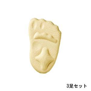 プランドゥ パカパカ防止 足らくピタッとインソール 3足セット [ ぷらんどぅ / 生活雑貨 ]- 定形外送料無料 -|kumokumo-square