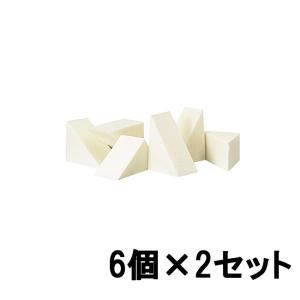 カバーマーク ナチュラル スポンジ (エクストラフォーミュラ専用) 6個入×2個セット [ covermark / 化粧品 ]- 定形外送料無料 -|kumokumo-square