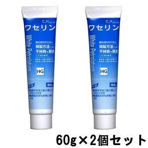 大洋製薬 ワセリンHG チューブ 化粧用油 60g ×2個セット[ ワセリン / スキンケア / 肌...