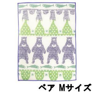 マーナ さらっと水きりディッシュマット M ベア [ MARNA / ECOCARAT / 水切り / マット / 吸水 ]- 定形外送料無料 - kumokumo-square