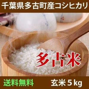 多古米コシヒカリ 玄米 5kg 29年産 加瀬さんのお米  ...