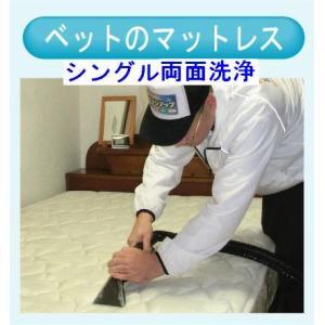 マットレスのクリーニング(シングル両面) 出張洗浄サービス【対応地域限定】【代金引換】|kunidenbousai