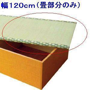 畳ユニット用替え畳(単体)120cm用|kunidenbousai