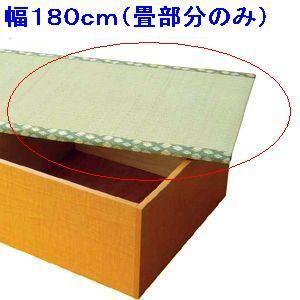 畳ユニット用替え畳(単体)180cm用|kunidenbousai