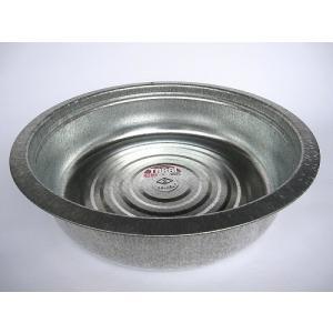 昔ながらのタライ トタン製 42cm 【たらい トタンタライ 金たらい カナダライ 洗い桶 洗桶】|kunikichisyouten
