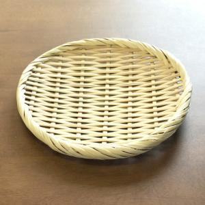 お蕎麦や鍋に 竹製 盆ざる 18cm 【竹ざる 盆ザル】|kunikichisyouten