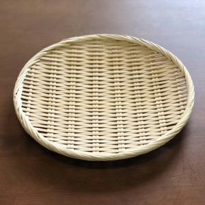 お蕎麦や鍋に 竹製 盆ざる 27cm 【竹ざる 盆ザル】|kunikichisyouten