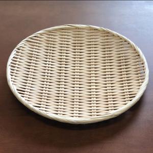 お蕎麦や鍋に 竹製 盆ざる 30cm 【竹ざる 盆ザル】|kunikichisyouten