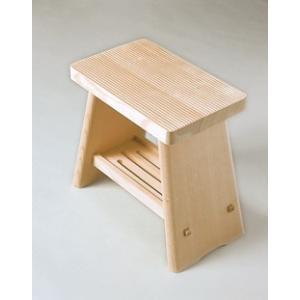 立ち座りが楽  木製 風呂椅子 【アラスカひのき】 ちょうほうくん ふろいす 風呂椅子|kunikichisyouten