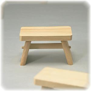 昔ながらの 木製 風呂椅子 小 【ヒノキ ひのき 檜 桧 ふろいす フロイス】|kunikichisyouten