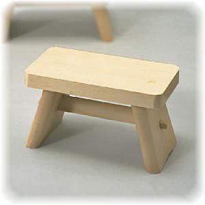 昔ながらの 木製 風呂椅子 大     【ヒノキ ひのき 檜 桧 ふろいす 風呂椅子】|kunikichisyouten